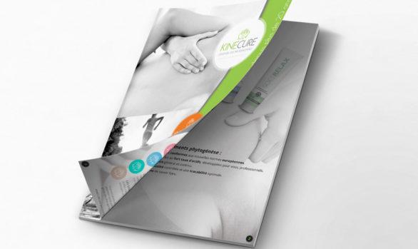 Brochure papier pour kinecure