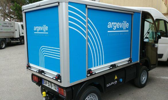 Décoration de véhicule pour Argeville