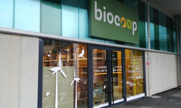 Enseigne Biocoop Grasse